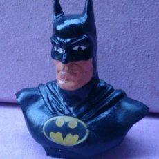 Figuras de Goma y PVC: FIGURA BUSTO BATMAN GOMA BULLY 1989 DC COMICS GERMANY . Lote 57923480