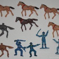 Figuras de Goma y PVC: LOTE FIGURAS MINI OESTE COMANSI MINIOESTE. Lote 57941679