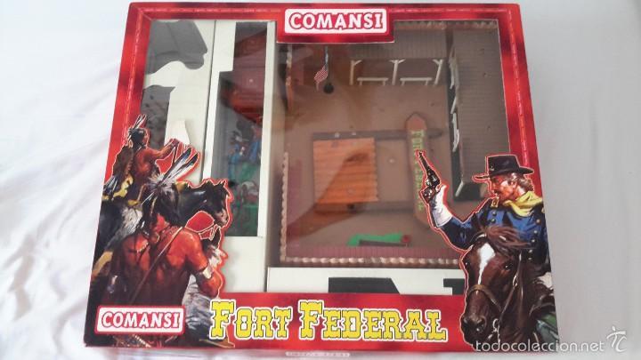 Figuras de Goma y PVC: COMANSI FORT FEDERAL - Foto 5 - 57953160