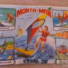 Figuras de Goma y PVC: SOBRE MONTA PLEX EXTRA 28. Lote 58065098