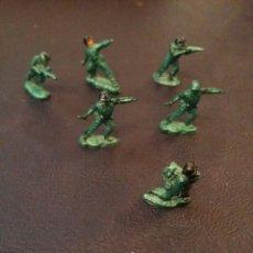 Figuras de Goma y PVC: LOTE FIGURITAS (SOLDADOS) PVC. 6 UDS. Lote 58080239