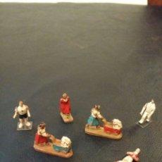 Figuras de Goma y PVC: LOTE FIGURITAS PVC ESTILO AÑOS 20. Lote 58080309