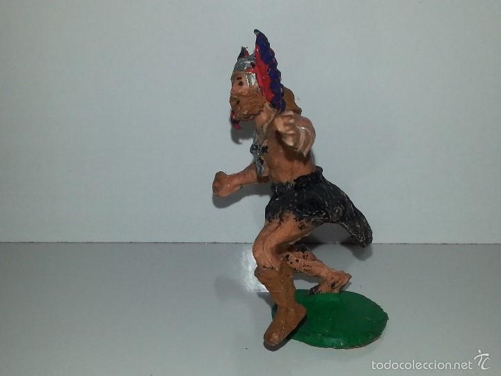 Figuras de Goma y PVC: ESTEREOPLAST : ANTIGUO GUERRERO VIKINGO - LEIFF - SERIE CAPITAN TRUENO - AÑOS 60 EN PLASTICO - Foto 3 - 58114535