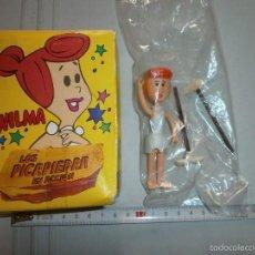 Figuras de Goma y PVC: FIGURA WILMA LOS PICAPIEDRA MARCA D.TOYS MADRID 1983 HANNA BARBERA. Lote 58133705