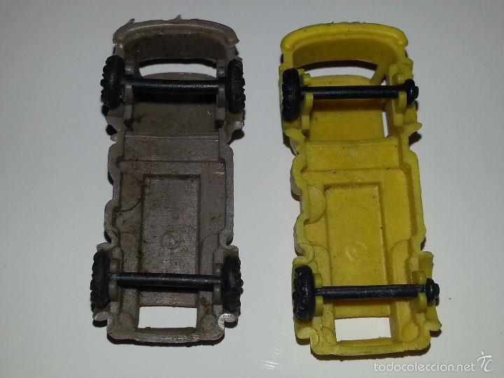 Figuras de Goma y PVC: MONTAPLEX ESJUSA ZIX : LOTE DE 2 CAMIONES EBRO PEGASO EN PLASTICO KIOSCO AÑOS 60 / 70 - Foto 4 - 58178678