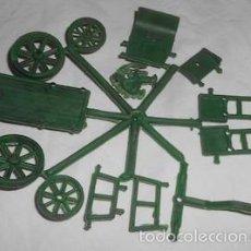 Figuras de Goma y PVC: CARRETA CON CARRETERO DE MONTAPLEX O MONTA PLEX, SIN SOBRE. Lote 243968295