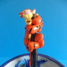 Figuras de Goma y PVC: CAPUCHÓN PARA LÁPIZ DE TIGGER - WINNIE THE POOH - CAPUCHONES DE LAPICES - DISNEY. Lote 58191037