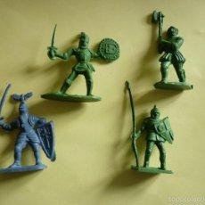 Figuras de Goma y PVC: FIGURAS MEDIEVALES 45MM. Lote 58198874