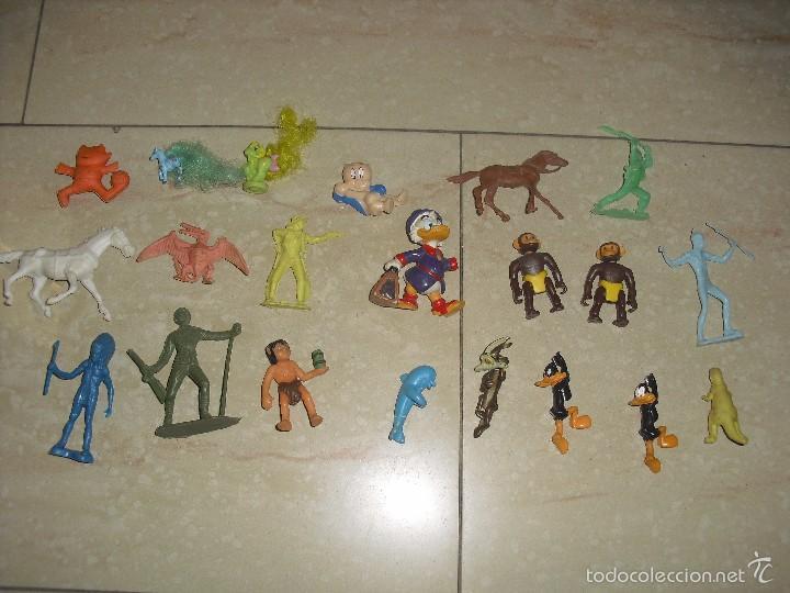 LOTE FIGURAS WARNER PONY PONI VAQUEROS INDIOS (Juguetes - Figuras de Goma y Pvc - Otras)