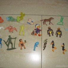 Figuras de Goma y PVC: LOTE FIGURAS WARNER PONY PONI VAQUEROS INDIOS . Lote 58223846
