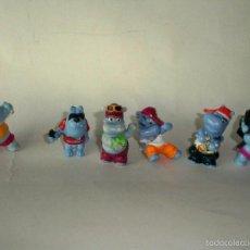 Figuras Kinder: HAPPY HIPPO KINDER HIPOPOTAMOS KINDER. Lote 55115335