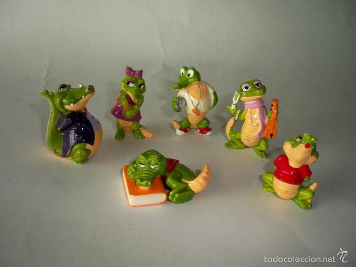 FIGURAS KINDER COCODRILO COCODRILOS (Juguetes - Figuras de Gomas y Pvc - Kinder)