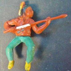 Figuras de Goma y PVC: INDIO EN GOMA. AÑOS 50. GAMA. Lote 58263625