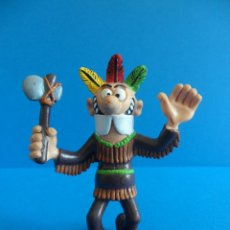 Figuras de Goma y PVC: MORTADELO. DISFRAZ DE INDIO - COMICS SPAIN. Lote 58267695