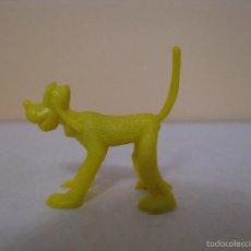 Figuras de Goma y PVC: FIGURA DUNKIN DISNEY. PLUTO. AMARILLO. CON RABO.. Lote 58269153