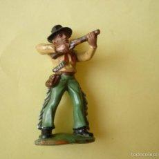 Figuras de Goma y PVC: FIGURA VAQUERO DE GOMA 60MM. Lote 58278788