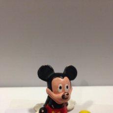 Figuras de Goma y PVC: ANTIGUA FIGURA PVC MICKEY MOUSE BULLY BULLYLAND GERMANY. Lote 58283100