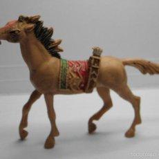 Figuras de Goma y PVC: CABALLO INDIO DE COMANSI. Lote 58298048