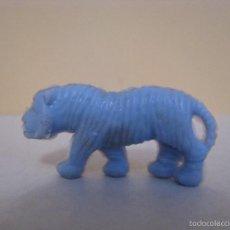 Figuras de Goma y PVC: FIGURA DUNKIN. FIERAS DEL ZOO. TIGRE. CELESTE.. Lote 58303194