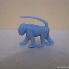 Figuras de Goma y PVC: FIGURA DUNKIN. FIERAS DEL ZOO. MONO. CELESTE.. Lote 58303199