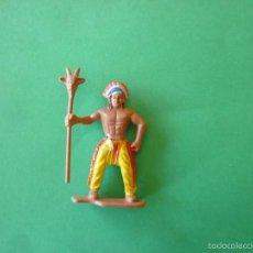 Figuras de Goma y PVC: FIGURA INDIO EN GOMA 60MM. Lote 58329560