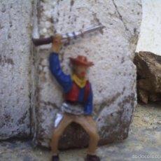 Figuras de Goma y PVC: VAQUERO DE COMANSI DE 5 CTM. Lote 58339255