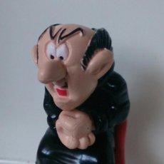 Figuras de Goma y PVC: FIGURA LOS PITUFOS SMURFS PEYO GARGAMEL. Lote 58377952
