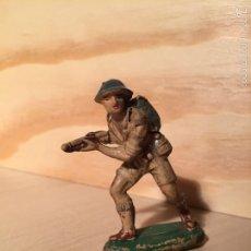 Figuras de Goma y PVC: FIGURA PECH GOMA INGLES AÑOS 60. Lote 58385901