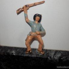 Figuras de Goma y PVC: VAQUERO OESTE PVC JECSAN. Lote 58393805