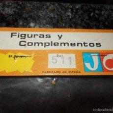 Figuras de Goma y PVC: BOLSA DE FIGURAS JECSAN ORIGINAL. Lote 58393990