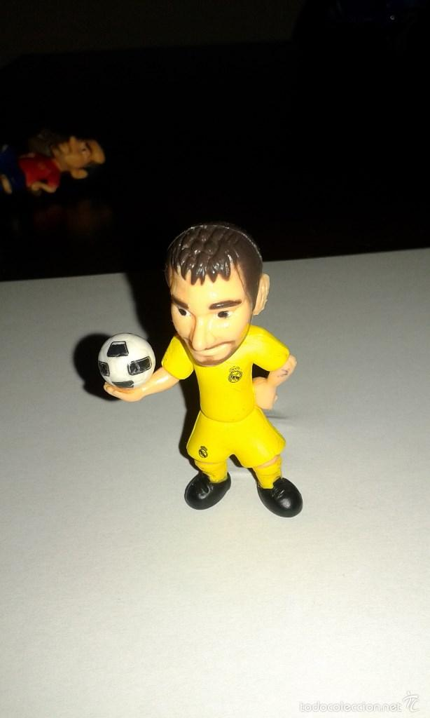 Figuras de Goma y PVC: COMANSI FIGURA DE PVC DEL REAL MADRID IKER CASILLAS MADE IN SPAIN - Foto 1 - 58399891
