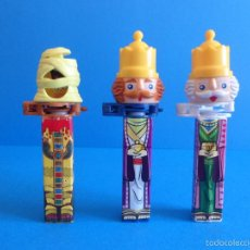 Dispensador Pez: DISPENSADORES DE CARAMELOS AU´SOME INC. REYES Y MOMIA - NO PEZ. Lote 60249270