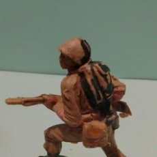 Figuras de Goma y PVC: ANTIGUA FIGURA SOLDADO AMERICANO II GUERRA MUNDIAL. PLÁSTICO. ORIGINAL PECH. AÑOS 60.. Lote 58440557