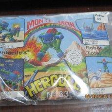 Figuras de Goma y PVC: MONTAPLEX-MONTA MAN- NUMERO 33- HERCULES-RARO!!! NUEVO. Lote 137559272