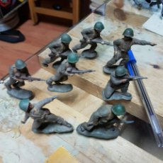 Figuras de Goma y PVC: FIGURAS REAMSA AÑOS 50 .8 PIEZAS. Lote 58446153