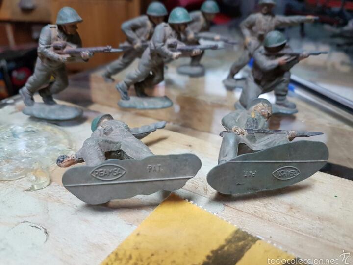 Figuras de Goma y PVC: Figuras reamsa años 50 .8 piezas - Foto 4 - 58446153