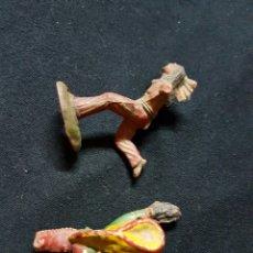 Figuras de Goma y PVC: INDIOS REAMSA AÑOS 50 . Lote 58446565