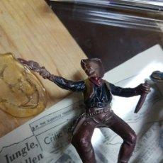 Figuras de Goma y PVC: JINETE DE DILIGENCIA PECH AÑOS 50. Lote 58450749