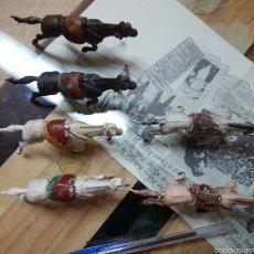 Figuras de Goma y PVC: 6 CABELLOS GAMA AÑOS 50. Lote 58450897
