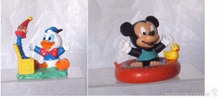 FIGURA PVC MICKEY & DONALD BABYS - DISNEY - ORIGINAL DE BULLYLAND (Juguetes - Figuras de Goma y Pvc - Bully)