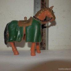 Figuras de Goma y PVC: CABALLO EN GOMA. Lote 58499362