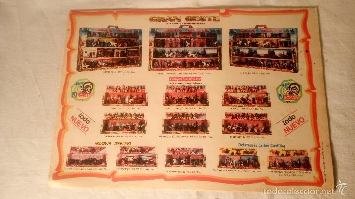 PUBLI JECSAN GRAN OESTE COMIC TEBEO ORIGINAL AÑOS 70 DDT Nº 179 GILDA (Juguetes - Figuras de Goma y Pvc - Jecsan)