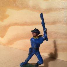 Figuras de Goma y PVC: FIGURA DE PLASTICO, SOLDADO YANKEE, 7º, SEPTIMO, JECSAN,. Lote 58557442