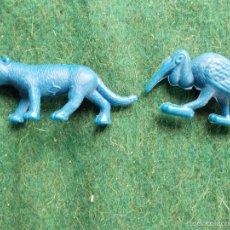 Figuras de Goma y PVC: FIGURAS DE ANIMALES TITO DUNKIN. Lote 58577519