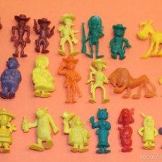 Figuras de Goma y PVC: LOTE DE 22 FIGURAS DE LUCKY LUCK DE DARGAUD - AÑOS 70. Lote 58630401