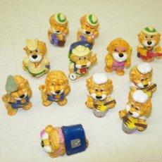Figuras Kinder: LOTE JUGUETES KINDER SORPRESA LEONES. Lote 45938140