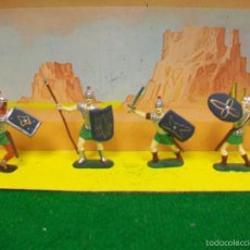 Figuras de Goma y PVC: SOLDADOS GUARDIA ROMANOS JECSAN ROMA NO PECH REAMSA LAFREDO GAMA COMANSI ELASTOLIN. Lote 58656014