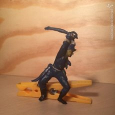 Figuras de Goma y PVC: FIGURA DE GOMA, PRIMER SEPTIMO ESPAÑOL, SOLDADO 7º, YANKEE PECH 1956,. Lote 58710448