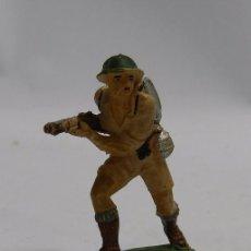 Figuras de Goma y PVC: ANTIGUO SOLDADO INGLES DE PECH, FABRICADO EN GOMA AÑOS 50/60 .. Lote 58788791
