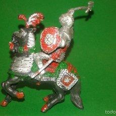 Figuras de Goma y PVC: CABALLERO MEDIEVAL DE LAFREDO, AÑOS 60, EN PLÁSTICO.. Lote 58792891